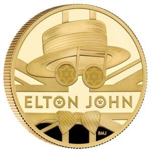 elton john gold coins