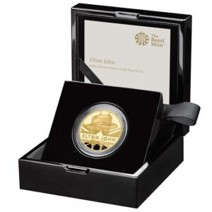 elton john one ounce gold proof coin