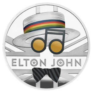 elton john one ounce silver proof coin