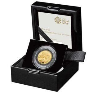 elton john quarter ounce gold proof coin