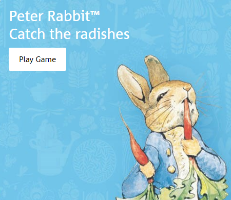 peter rabbit game