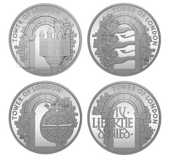 tower of london coins 2020 brilliant uncirculated