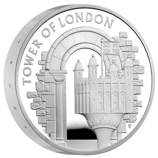 Tower of London Silver Proof Piedfort Coins