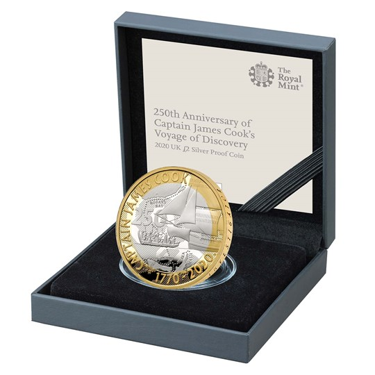 captain cook silver proof
