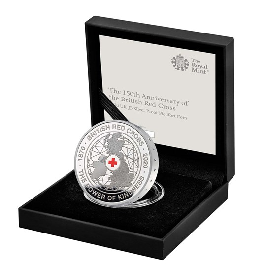 Silver Proof Piedfort Coin
