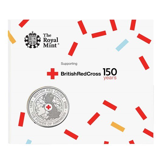 Brilliant Uncirculated The 150th Anniversary of the British Red Cross 2020 UK £5 Brilliant Uncirculated Coin