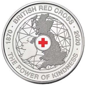 British Red Cross 2020 UK £5 Coins