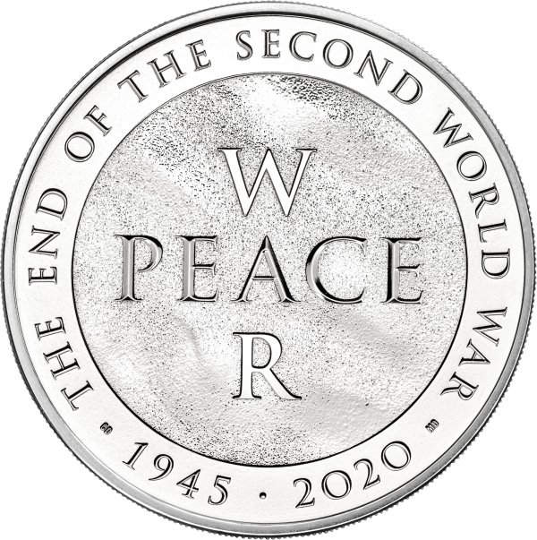 end of the second world war coin