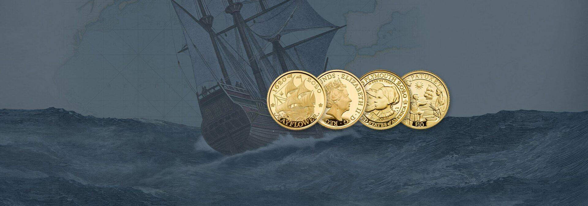 Mayflower £2 Coin Set