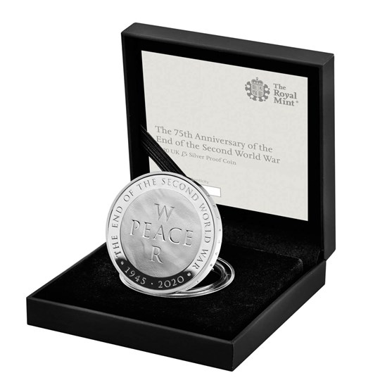 End of the Second World War 2020 £5 Silver Proof Coin