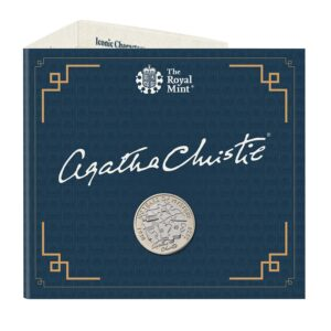 Agatha Christie brilliant uncirculated coin