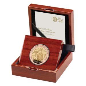 Agatha Christine Gold Proof Coin