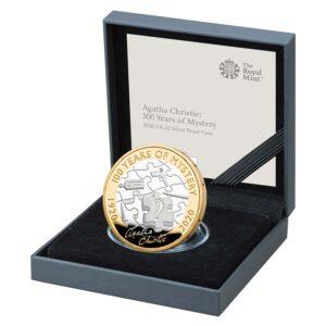 Agatha Christie Silver Proof Coin