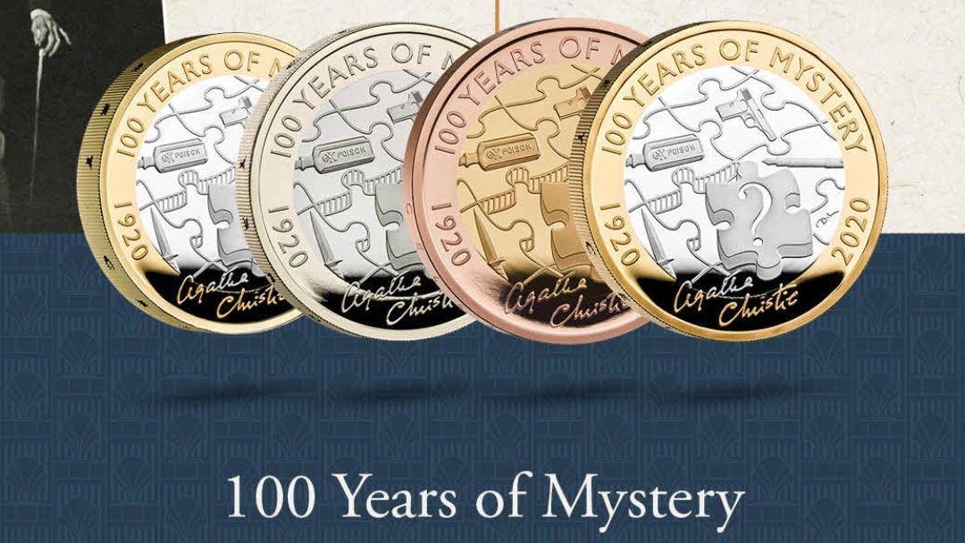 Agatha Christie coins