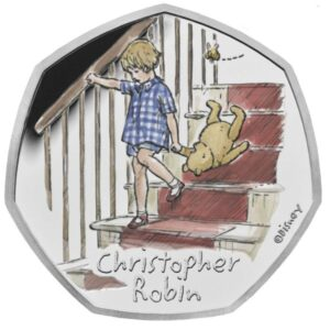 Christopher Robin 50p Silver Proof Coin