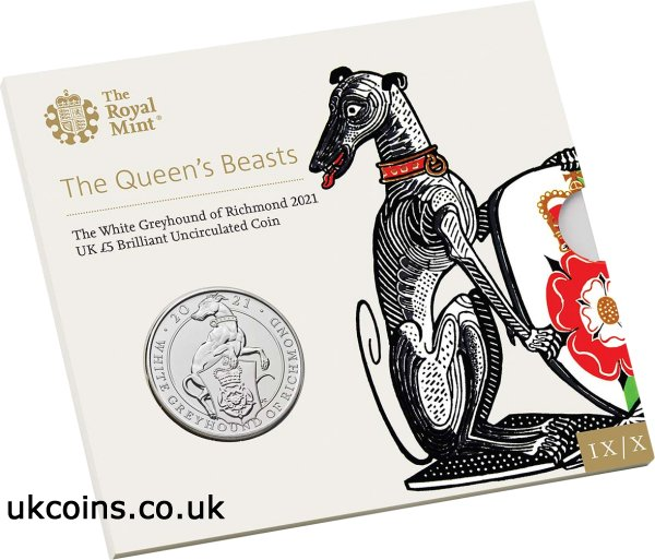 the white greyhound of richmond coin