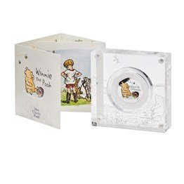 Winnie the Pooh 2020 UK 50p Silver Proof Coin