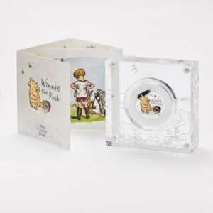 Winnie the Pooh 50p Silver Proof Coin