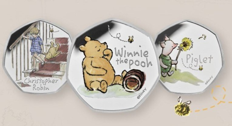 Winnie The Pooh coin collection