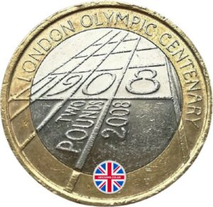 2008 London Olympic Games 1908 circulated