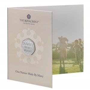 Celebrating British Diversity 2020 UK 50p Brilliant Uncirculated Coin