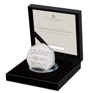 Celebrating British Diversity 2020 UK 50p Silver Proof Coin
