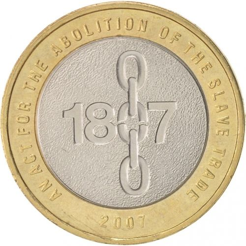 Abolition of the Slave Trade £2 Coins