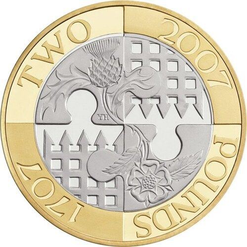 Act of Union £2 Coins