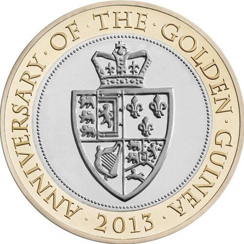 Anniversary of the Guinea £2 Coins