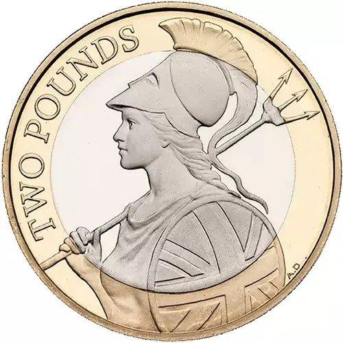 2015 Britannia £2 Coins