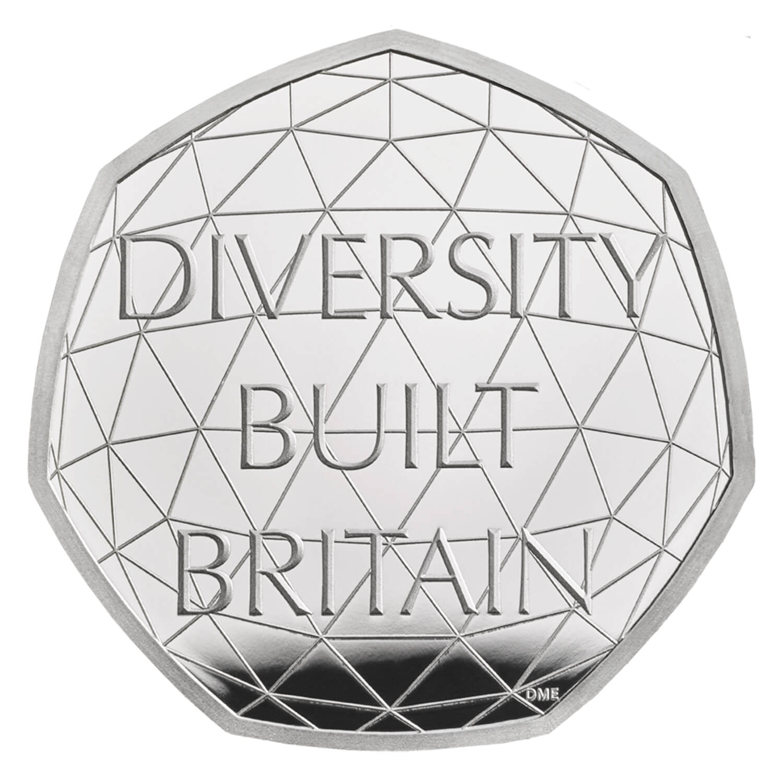 Diversity 50p Silver Proof Piedfort