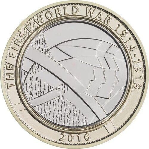 First World War Centenary - Army £2 Coins