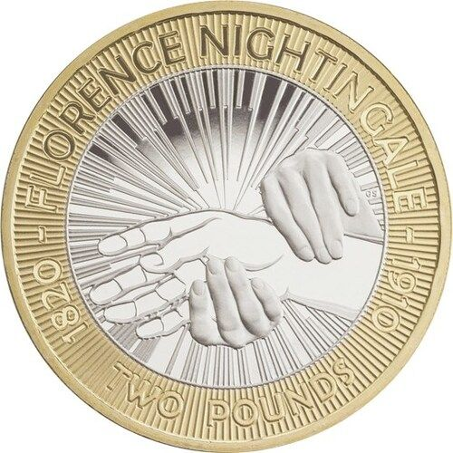 Florence Nightingale £2 Coins