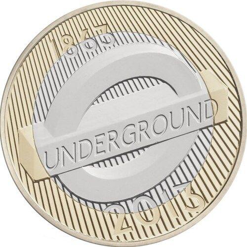 London Underground –  Roundel £2 Coins