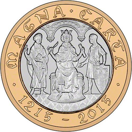 Magna Carta £2 Coins