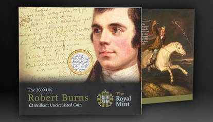 Robert Burns BU Coin Pack