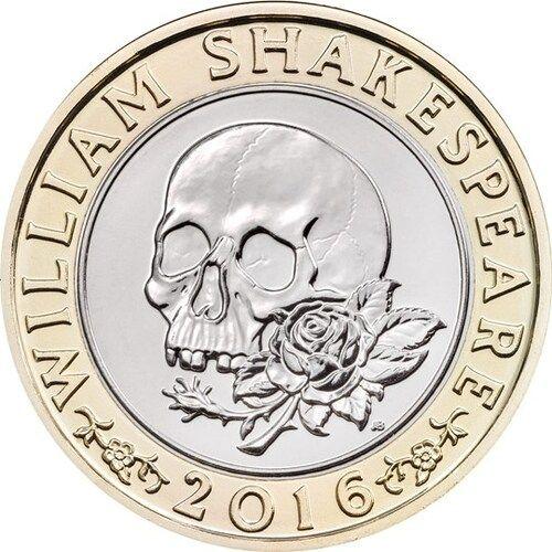 Shakespeare Tragedies £2 Coins