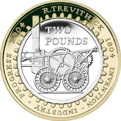 Trevithick Steam Locomotive