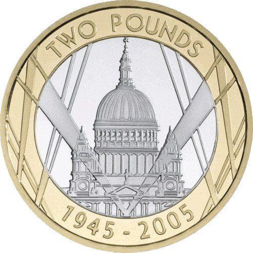 World War II £2 Coins