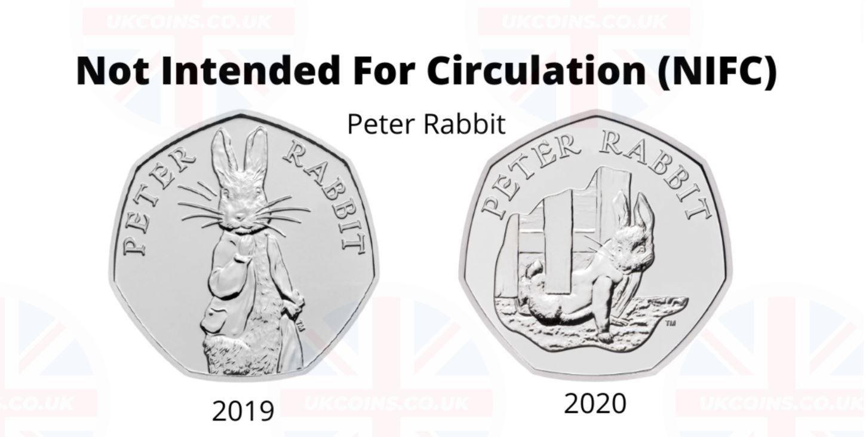 Beatrix Potter NIFC coins