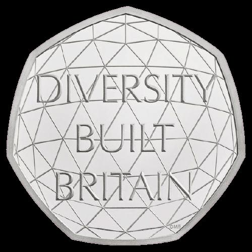 Diversity 50p