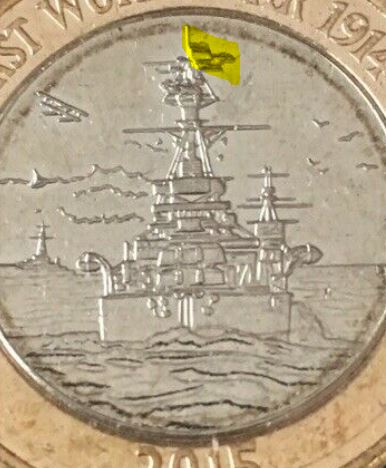 Flag Error Coin