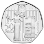 Give Women The Vote 50p