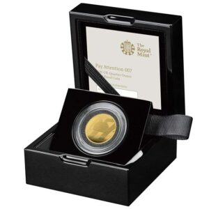 Pay Attention 007 2020 UK Quarter-Ounce Gold Proof Coin