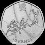 Olympics Basketball 50p