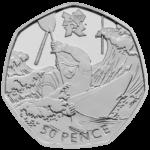 Olympics Canoeing 50p