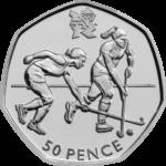 Olympics Hockey 50p