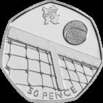 Olympics Tennis 50p