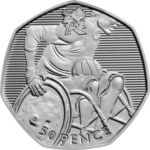 Olympics Wheelchair Rugby 50p