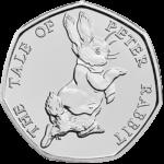 Peter Rabbit 50p 2017